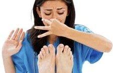 Mal olor de pies y sudor de los pies